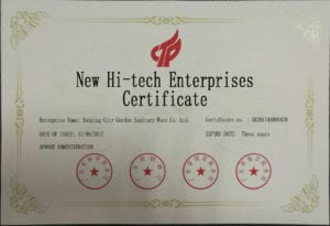 High-Tech Enterprises Certification