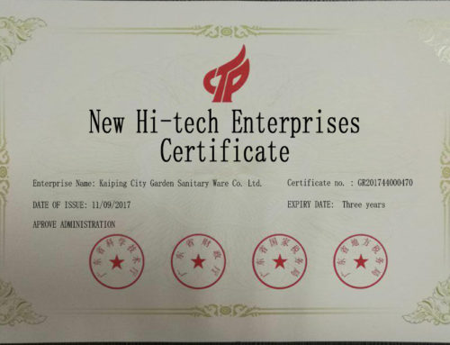 High-Tech Enterprises Certification