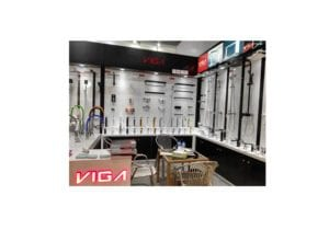 VIGA Faucet took part in 2016 canton fair and brought lots of series about kitchen faucets and bathroom faucet.