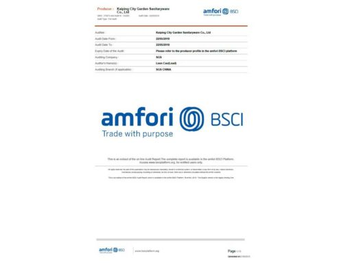 BSCI Certificatie