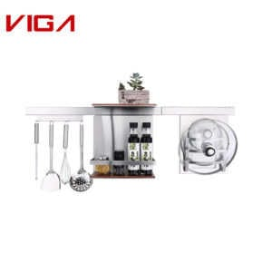 VIGA Factoty SUS#304 Stainless Steel Anti-rust Family Kitchenware Cooking Hooks In Brush Nickle