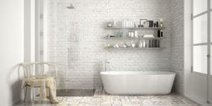The correct cleaning method can make bathroom products more durable