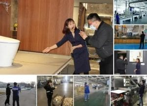 Why can Huida Sanitary Ware be selected for the inspection of the Prime Minister in Canton Fair?