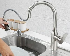 Recommending 3 practical kitchen faucets to make your kitchen clean and comfortable