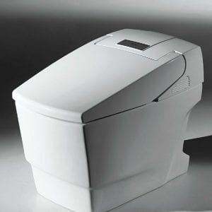 How to install the smart toilet lid?