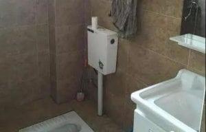 욕실 장식, 스쿼트 피트 높이 20CM, 마스터는 항상 이것을 칭찬했습니다. 정말 똑똑합니다!