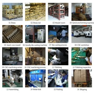 Brass Taps Manufacturing Process